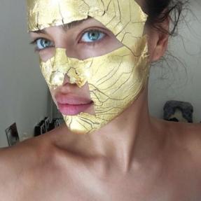 irina s gold mask